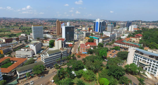 Kampala - Uganda's capital city