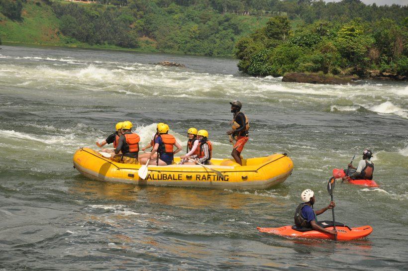 rafting Nile