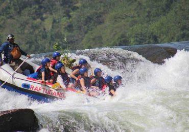 Rafting in Jinja Uganda