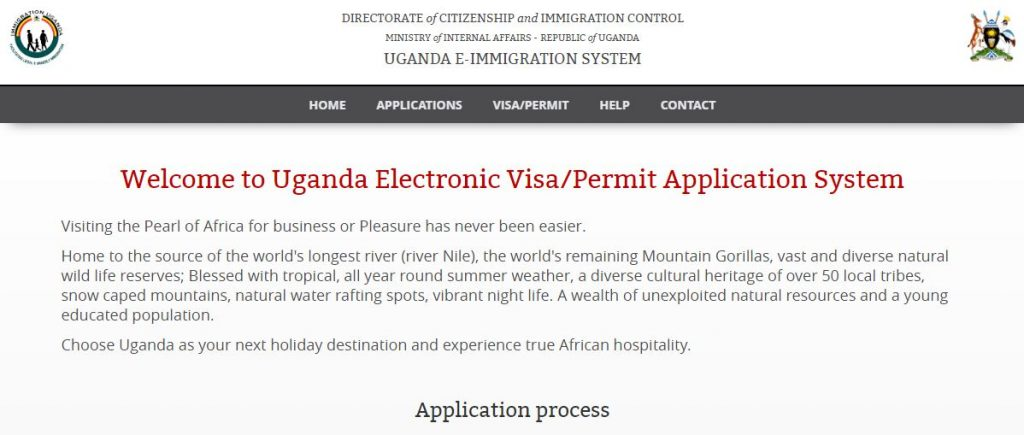 Uganda Visa Application