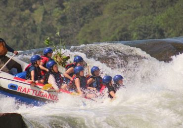 White Water rafting on the Nile in Jinja town